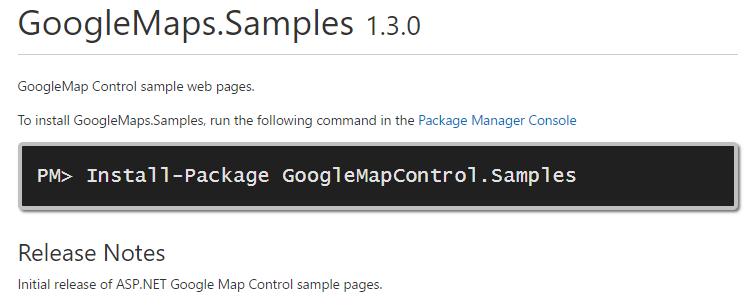 Introduction | Google Map Control